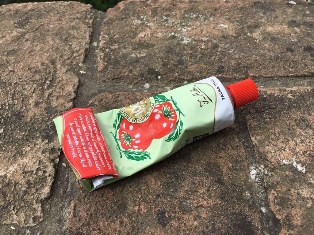 doppio concentrato (tomato paste)