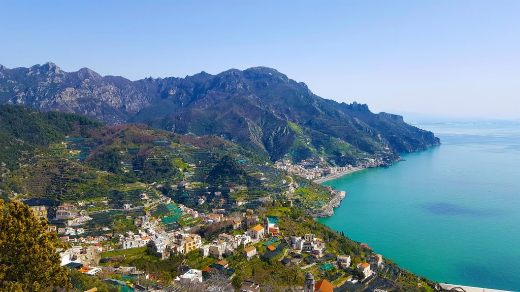 The Amalfi coast belongs to the best areas in Italy