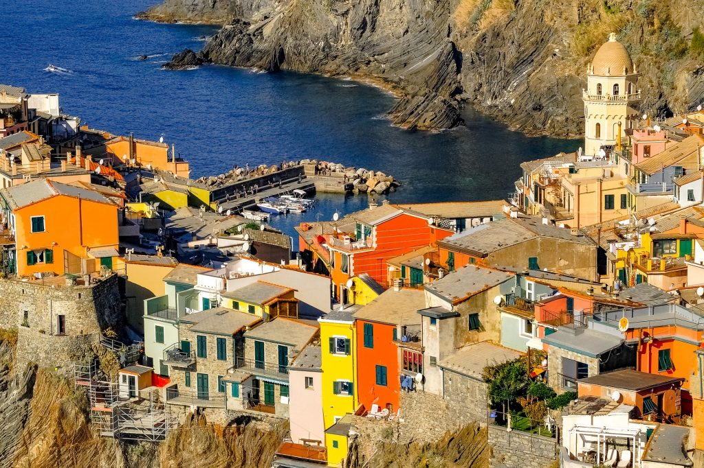 Le Cinque Terre, one of the best places in Italy