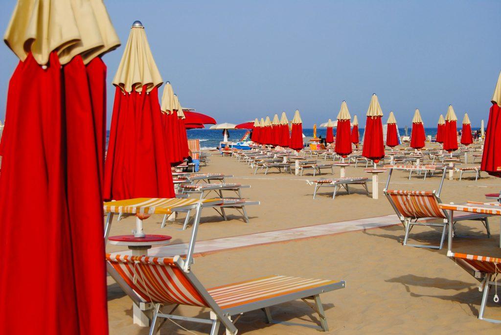 Beautiful Italian beaches