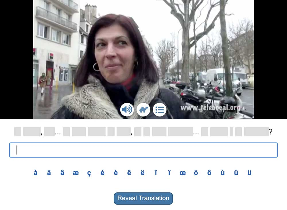 intermediate french lessons - scribe